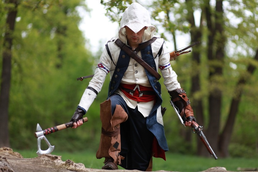 seith et le cosplay d 39 assassin 39 s creed iii. Black Bedroom Furniture Sets. Home Design Ideas